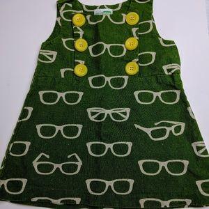 Decaf Plush Eyeglass Dress 2T